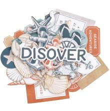 Kaisercraft Collectables Cardstock Die-Cuts - Uncharted Waters