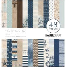 Kaisercraft Paper Pad 12X12 48/Pkg - Nautical