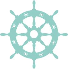 Kaisercraft Decorative Die - Captains Wheel