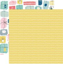 Kaisercraft Oh Happy Day! Double-Sided Cardstock 12X12 - Wrapped Up