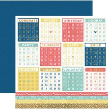 Kaisercraft Oh Happy Day! Double-Sided Cardstock 12X12 - 100s & 1000s