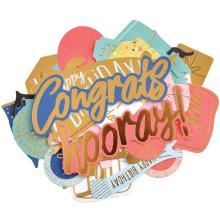Kaisercraft Collectables Cardstock Die-Cuts - Oh Happy Day!