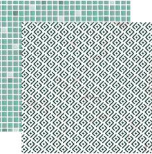 Kaisercraft Lily & Moss Double-Sided Cardstock 12X12 - Tiles