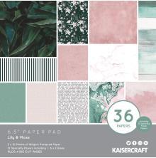 Kaisercraft Paper Pad 6.5X6.5 40/Pkg - Lily & Moss
