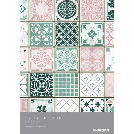 Kaisercraft Sticker Book - Lily & Moss