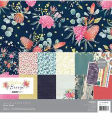 Kaisercraft Paper Pack 12X12 12/Pkg - Native Breeze