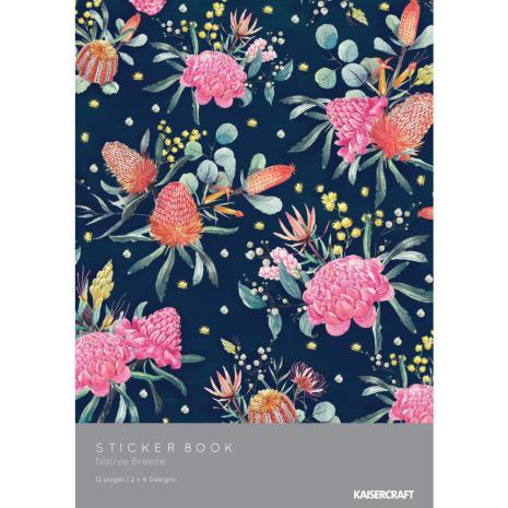 Kaisercraft Sticker Book - Native Breeze