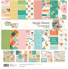 Simple Stories Collection Kit 12X12 - Hey, Crafty Girl