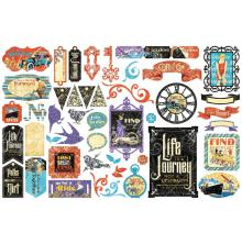 Graphic 45 Cardstock Die-Cuts - Life is A Journey