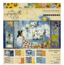 Graphic 45 Double-Sided Paper Pad 8X8 24/Pkg - Dreamland