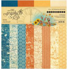 Graphic 45 Double-Sided Paper Pad 12X12 16/Pkg - Dreamland