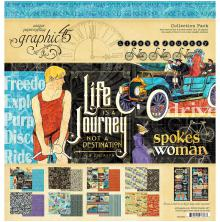 Graphic 45 Collection Pack 12X12 - Life is A Journey