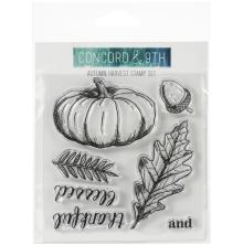Concord & 9th Clear Stamps 4X4 - Autumn Harvest
