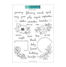 Concord & 9th Clear Stamps 6X8 - Annuals