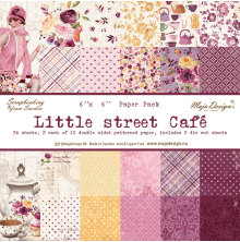 Maja Design 6x6 Paper Pack - Little Street Café