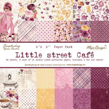 Maja Design 6x6 Paper Pack - Little Street Café