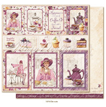 Maja Design Little Street Café 12X12 - Die Cuts