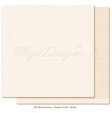Maja Design Monochromes 12X12 Shades of Café - Vanilla