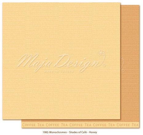 Maja Design Monochromes 12X12 Shades of Café - Honey