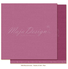Maja Design Monochromes 12X12 Shades of Café - Plum