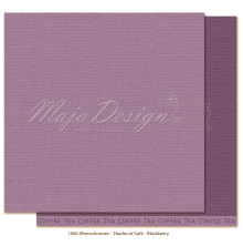 Maja Design Monochromes 12X12 Shades of Café - Blackberry