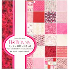 BoBunny Single-Sided Paper Pad 12X12 48/Pkg - Count The Ways