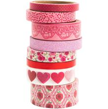 BoBunny Washi Tape 8/Pkg - Count The Ways