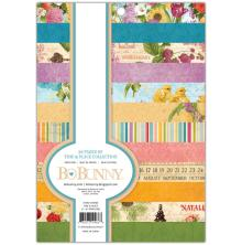 BoBunny Single-Sided Paper Pad 6X8 36/Pkg - Time & Place