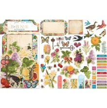 BoBunny Noteworthy Die-Cuts 58/Pkg - Time & Place