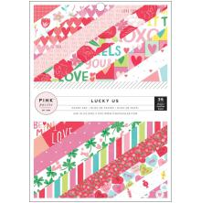 Pink Paislee Single-Sided Paper Pad 6X8 36/Pkg - Lucky Us