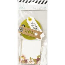 Heidi Swapp Tag Set 16/Pkg - Honey & Spice