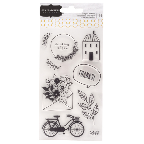 Jen Hadfield Clear Stamps - This Is Family