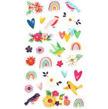 Dear Lizzy Puffy Stickers 27/Pkg - She's Magic