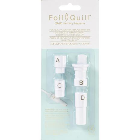 We R Memory Keepers Foil Quill Adapter Kit 4/Pkg