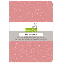 Lawn Fawn Mini Notebooks 3.5X5 2/Pkg - Perfectly Pink