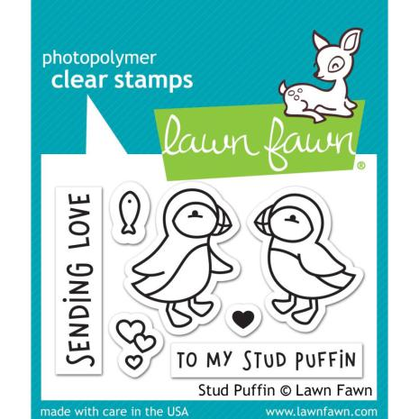 Lawn Fawn Clear Stamps 3X2 - Stud Puffin