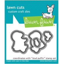 Lawn Cuts Custom Craft Die - Stud Puffin