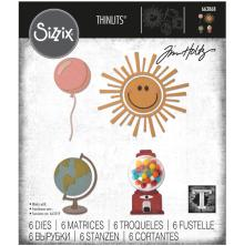 Tim Holtz Sizzix Thinlits Dies - Circle Play 20-01