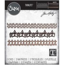 Tim Holtz Sizzix Thinlits Dies - Crochet #2 20-01