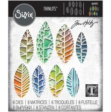 Tim Holtz Sizzix Thinlits Dies - Cut Out Leave 20-01