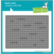 Lawn Cuts Custom Craft Die - XOXO Backdrop: Landscape