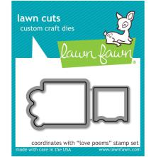 Lawn Cuts Custom Craft Die - Love Poems