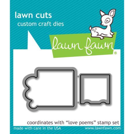 Lawn Cuts Custom Craft Die - Love Poems