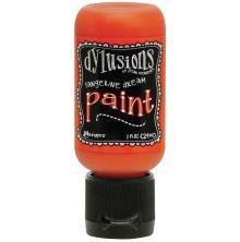 Dylusions Paints 29ml Flip Cap Bottle - Tangerine Dream