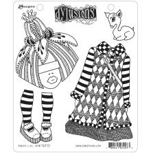Dylusions Cling Stamps 8.5X7 - Maisie Lilly