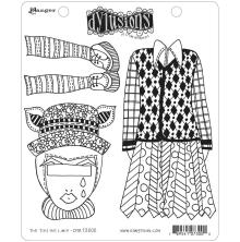 Dylusions Cling Stamps 8.5X7 - The Ties the Limit!