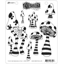 Dylusions Cling Stamps 8.5X7 - There´s Not Mushroom in Here!