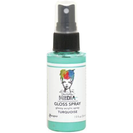 Dina Wakley Media Gloss Spray 56ml - Turquoise