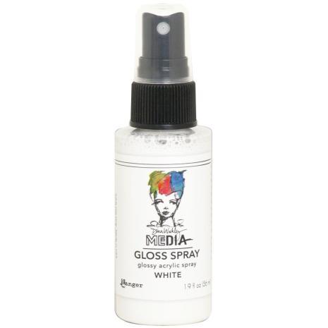 Dina Wakley Media Gloss Spray 56ml - White