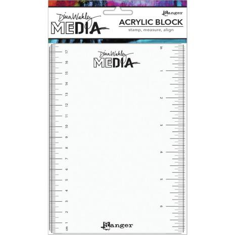 Dina Wakley Media Stamping Block 5X7